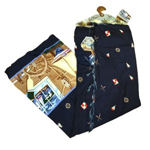 NWT Nautical Sarong by Paul Brent
